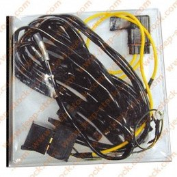 Faisceau électrique relai 12V - 2X20A pour phare ou compresseur avec interrupteur connectiques // JF100