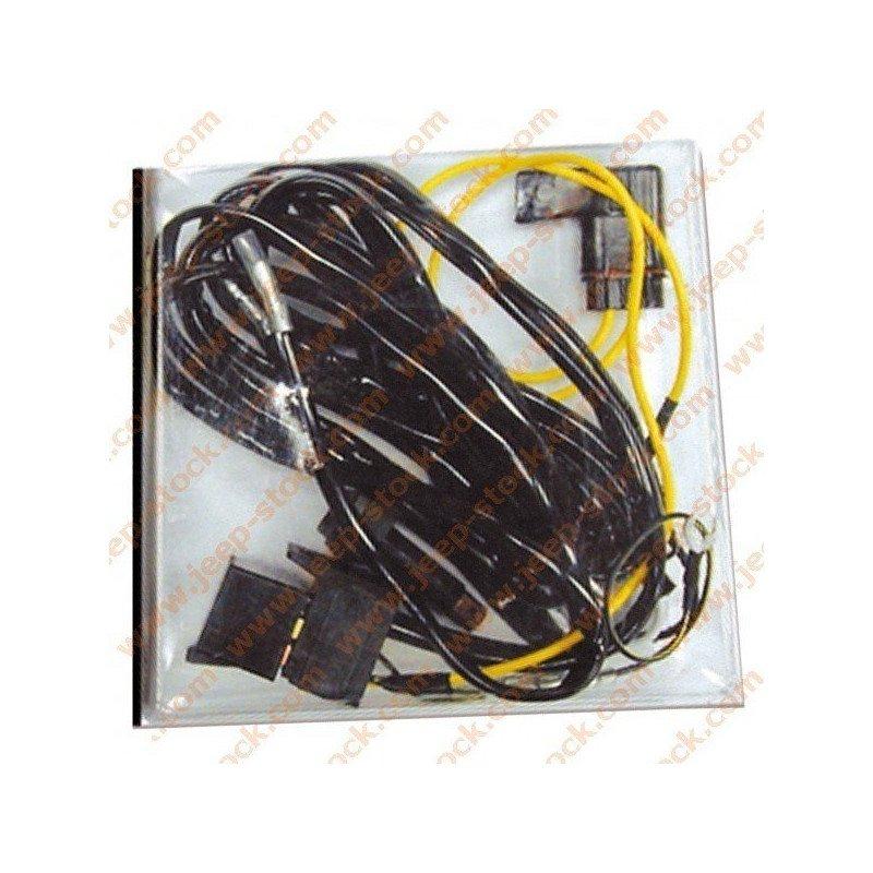 faisceau lectrique relais 12v 2x20a pour phare ou. Black Bedroom Furniture Sets. Home Design Ideas
