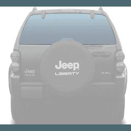 Lunette arrière / lunette de hayon - Verre Fumé/Teinté - OCCASION - Jeep Cherokee Liberty KJ 2002-2007 // 55360340