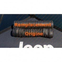 Durite noire, flexible admission air (boitier filtre au corps de papillon) Jeep Wrangler YJ 1987-90 2.5L monopoint //SHV270