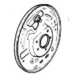 Flasque de frein Arrière Droite - NON ABS - Jeep Wrangler YJ 1990-95 / TJ 1997-06 / Cherokee XJ 1990-2001 // 05017760AA