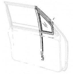Custode / Petite Vitre Triangulaire Fixe Avant Gauche - OCCASION - Jeep Cherokee XJ 1984-1996 // 55027411-OCC