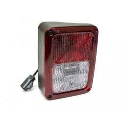Feu arrière gauche, Europe, complet avec cabochon ampoules et faisceau pour Jeep Wrangler JK 2007-2011 // 55078147AC