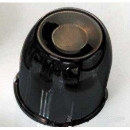 Cache moyeu Noir Dia. 80 mm pour jante Triangular ou Modular // CC80BK