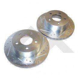 Disques de frein avant Performance / Jeep Wrangler TJ 97-99 / YJ 90-95 / ZJ 93-98 /Cherokee XJ 90-99// RT31002