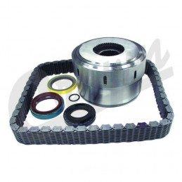 Kit coupleur Gerotor + chaîne + joints pour boite de transfert NP 247 - Jeep Grand-cherokee WJ 1999-2004 // 5012329AAK2