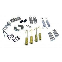 Ensemble ressorts + câbles de freins à tambour arrière 10 pouces (254 mm) / Jeep Wrangler YJ 87-89 / XJ 84-89 / CJ 78-86