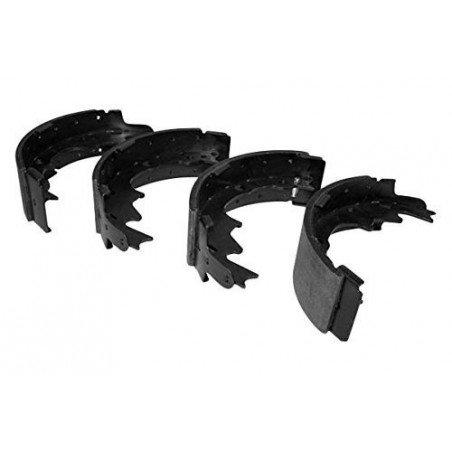 Kit Mâchoires (x4) freins arrière pour tambour 9 pouces / 230 mm - Jeep Wrangler TJ 00-06 / Cherokee XJ 00-01 // 5019536AA