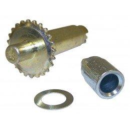 Vis de rattrapage de jeu pour frein à tambours arrière gauche 10 pouces (254 mm) / Jeep CJ 78-86 / YJ 87-95 / XJ 84-90