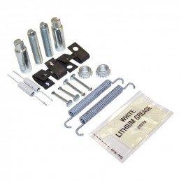 Kit accessoires de montage de frein à main, ressorts + clips + tendeurs Jeep Grand-Cherokee WH - Commander XH 2005-2010