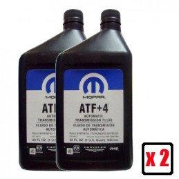 Huile Jeep ATF+4 / MS-9602 pour boite automatique, transfert et DA MOPAR ATF+4 / 2 x bidons de 0,946L // 05103527EA-JS