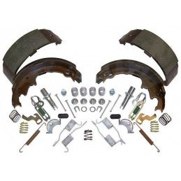 Kit freins arrière 9 pouces / 230 mm - Mâchoires + accessoires - Jeep Wrangler YJ, TJ 90-00 / Cherokee XJ 90-00 // 4723367MK-JS