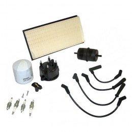 Kit entretien moteur Jeep Cherokee XJ 2.5L 94-96 - Allumage, tête delco, câbles, bougie, filtre air, huile, carburant // TK20