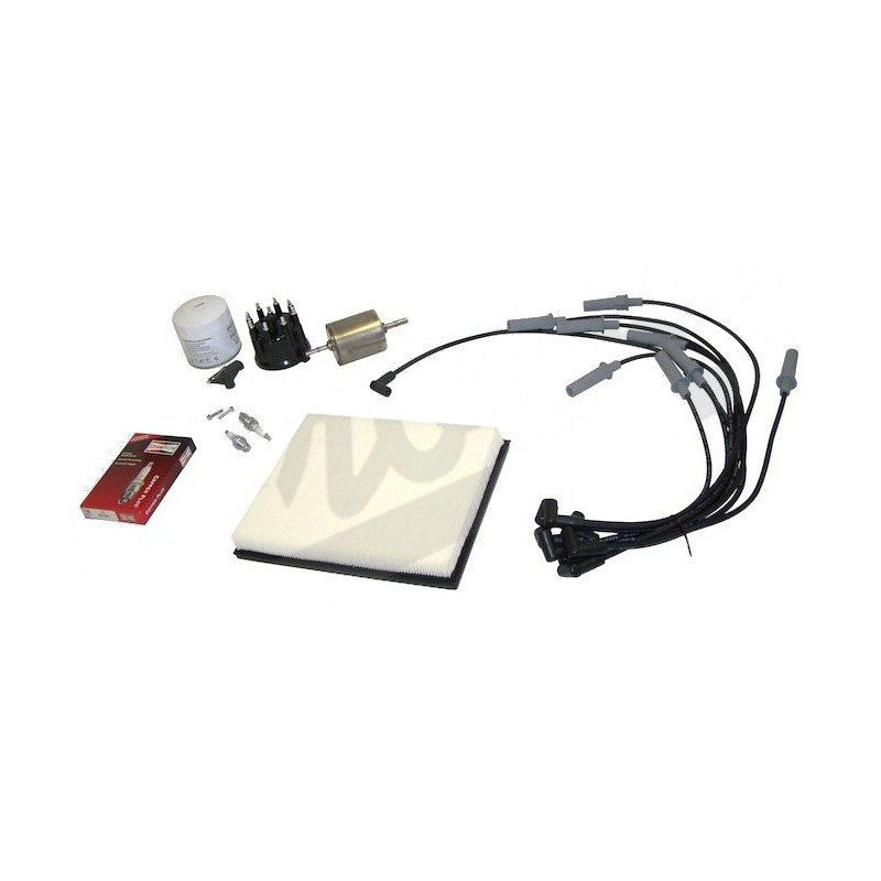 kit entretien moteur jeep grand cherokee zj v8 5 2l 93 96 allumage t te doigt cables. Black Bedroom Furniture Sets. Home Design Ideas