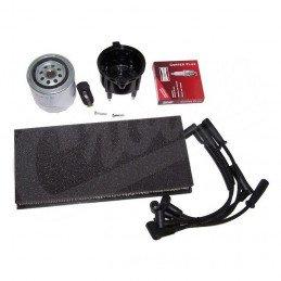 Kit entretien moteur Jeep Wrangler TJ 2.5L 99-00 - Allumage, tête, doigt, câbles, bougies, filtre à air, filtre à huile // TK26