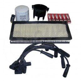 Kit entretien moteur Jeep Wrangler TJ 4.0L 97-98 - Allumage, tête et doigt Delco, câbles, bougies, filtre air, filtre huile