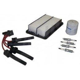 Kit entretien moteur Jeep Wrangler TJ 2.4L 03-06 -  Alumage, bougie, câbles, filtre à air, filtre à huile // TK43
