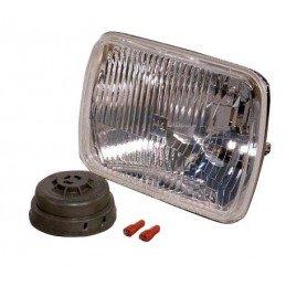 Optique de phare 140 x 200 mm Droit ou Gauche - Jeep Cherokee XJ 1984-01 / Wrangler YJ 1987-95 (importé uniq) //1AE003.427-021