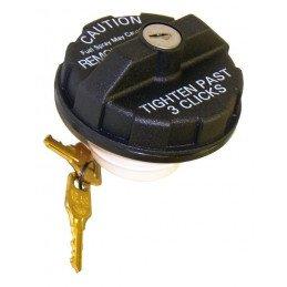 Bouchon de réservoir à clefs - Jeep Wrangler TJ, YJ 91-00 / Cherokee XJ 84-99 / Grand Cherokee WJ, ZJ 93-00 // 82400041
