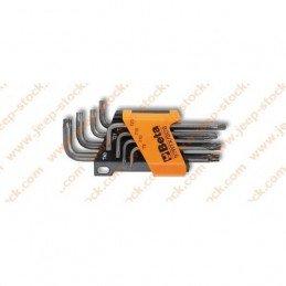 Jeu de 8x clés Torx (étoile mâle) percées spéciales pour carrosserie charnières ceintures Jeep //  BTA000970263