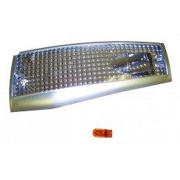 Clignotant Avant Droit Vertical - Chrome/blanc + ampoule ambre - Non Homologué UE - Jeep Cherokee XJ 1984-1996 // RT28025