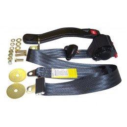 Kit ceinture de sécurité avant droite ou gauche, 3 points avec enrouleur - Jeep Wrangler YJ & CJ 1982-1995 // BELT3BB