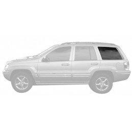 Vitre de custode AR gauche (côté conducteur) - OCCASION - TEINTE CLAIRE - Jeep Grand Cherokee WJ 1999-2004 // 55135817AE-OCC